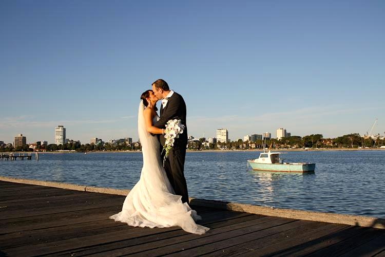 best melbourne beach wedding and sunset photos