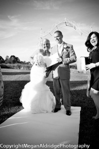 wedding at the vines